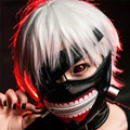 High Quality Cosplay Anime Clearance Tokyo Ghoul 2 Kaneki Ken Mask Adjustable Zipper Masks PU Leather