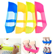 Free shipping Creative Adhesive Shoes Rack Wall Hanging Shoes Organizer Hanger Hook High Quality SGG#(China (Mainland))