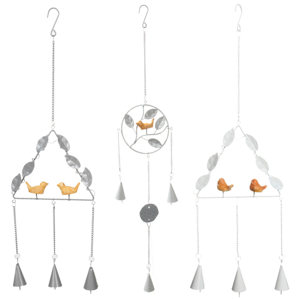 Handmade creative Wall Bird Design Wind Campanula metal chimes ornaments Crafts Japanese style or a gift for friend(China (Mainland))