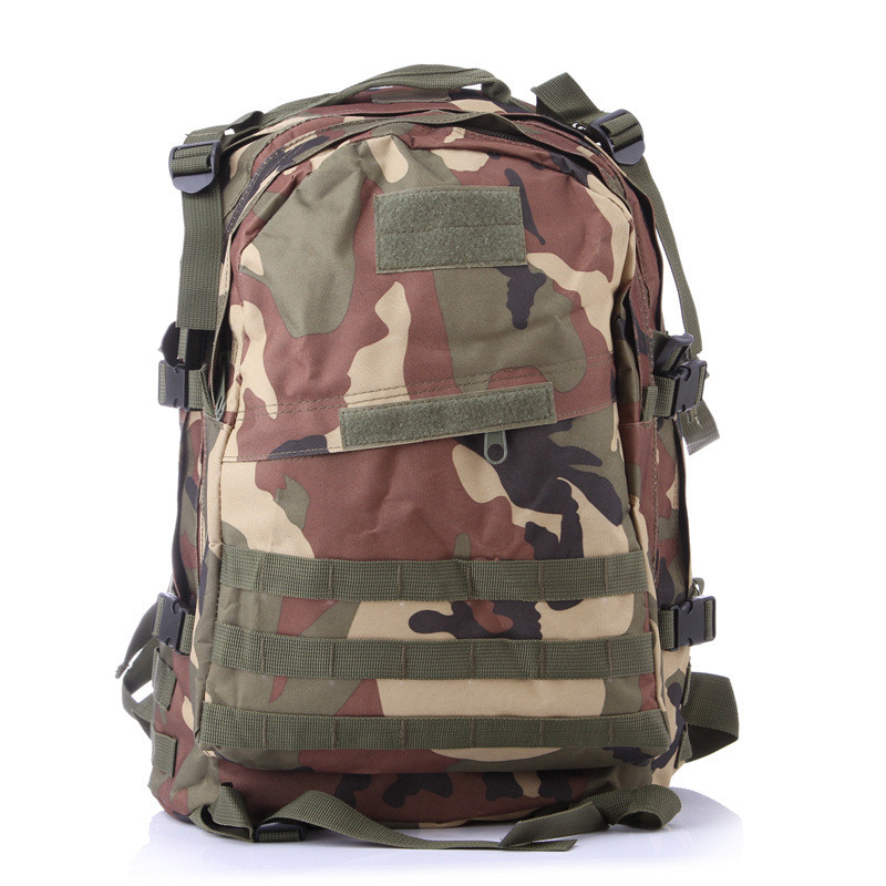 Sports Outdoors Molle 3D Military Tactical Hunting Backpack Bag Rucksack Camping Traveling Hiking Trekking High Intensity(China (Mainland))