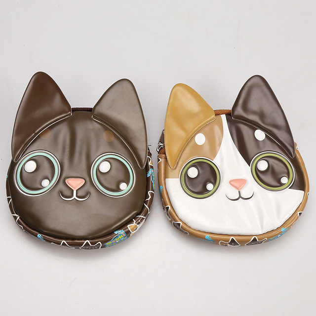 2016 3D милый кот портмоне, Творческий в качестве подарков