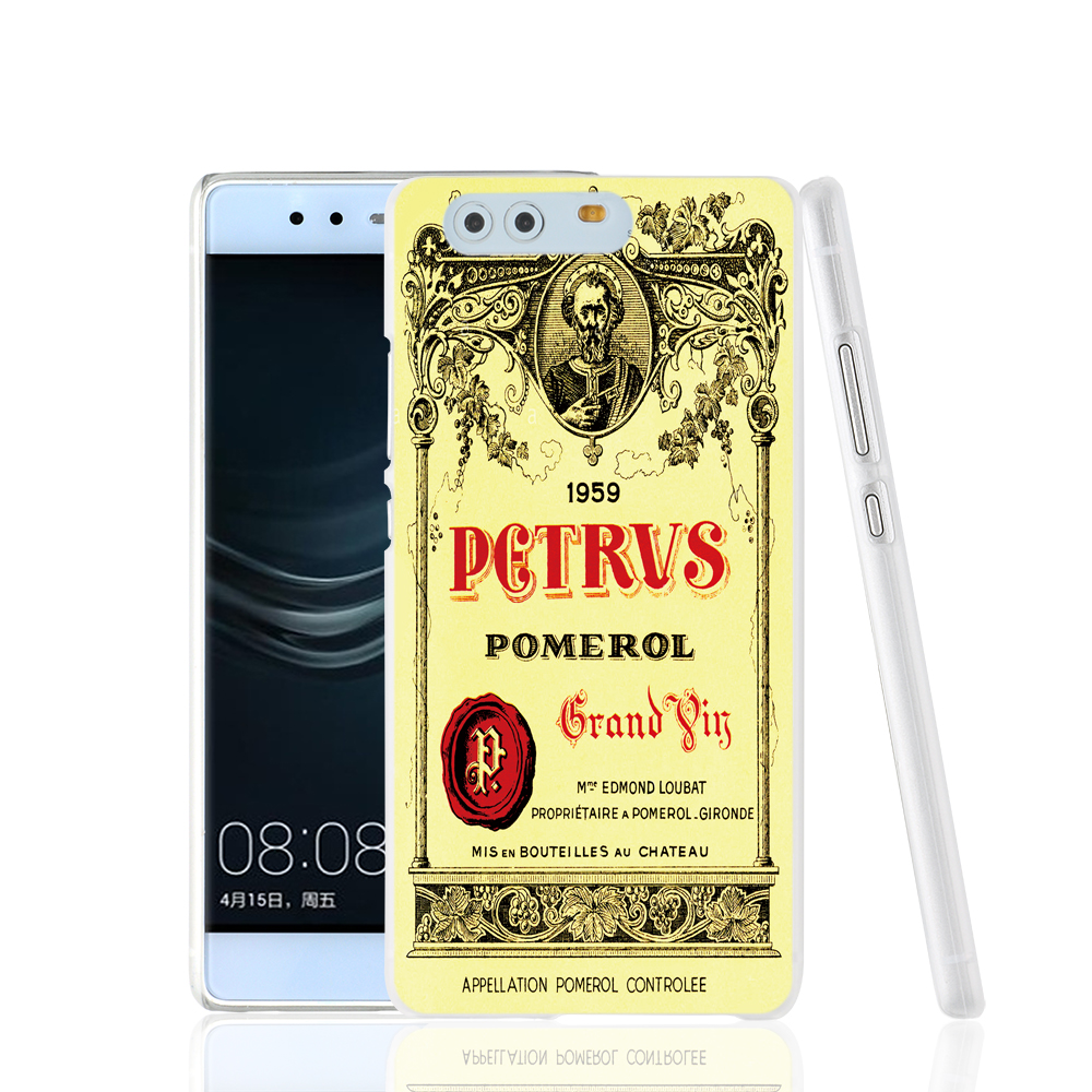 17097 Cool Chateau Petrus Wine 1990 Logo cell phone Cover Case for huawei Ascend P7 P8 P9 lite Maimang G8(China (Mainland))