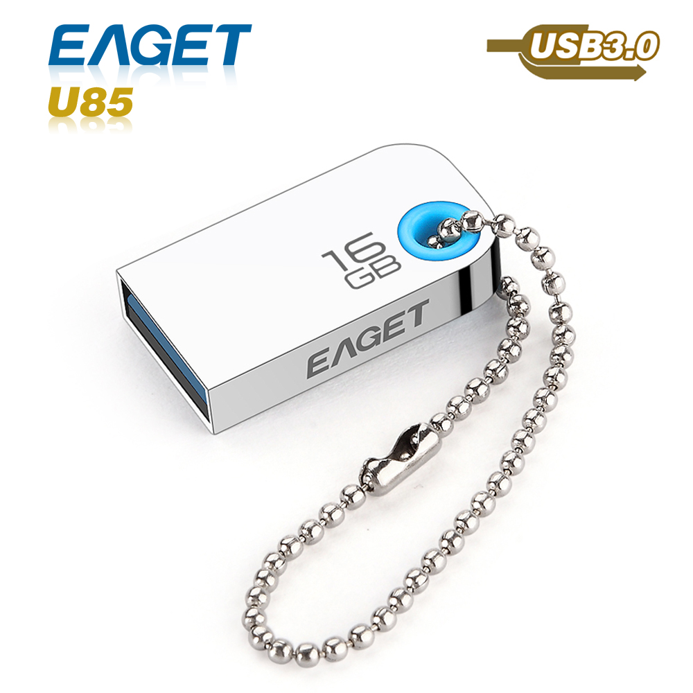 usb flash drive Eaget U85 usb 3.0 pass h2test 16GB 32GB 64GB pen drive waterproof shockproof External Storage pendrive(China (Mainland))