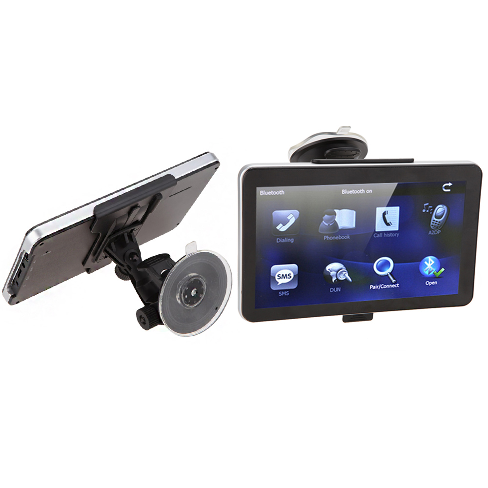 """Multi-function 7"""" HD Touch Screen Portable Car GPS Navigation 8GB FM Video Play Car Navigator + Map GPS Holder Suction Cup(China (Mainland))"""
