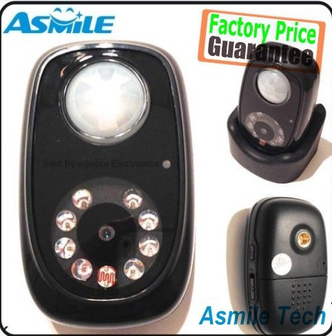 Q2 PIR Detector Camera Mini DVR with Night vision and Infrared body induction<br><br>Aliexpress