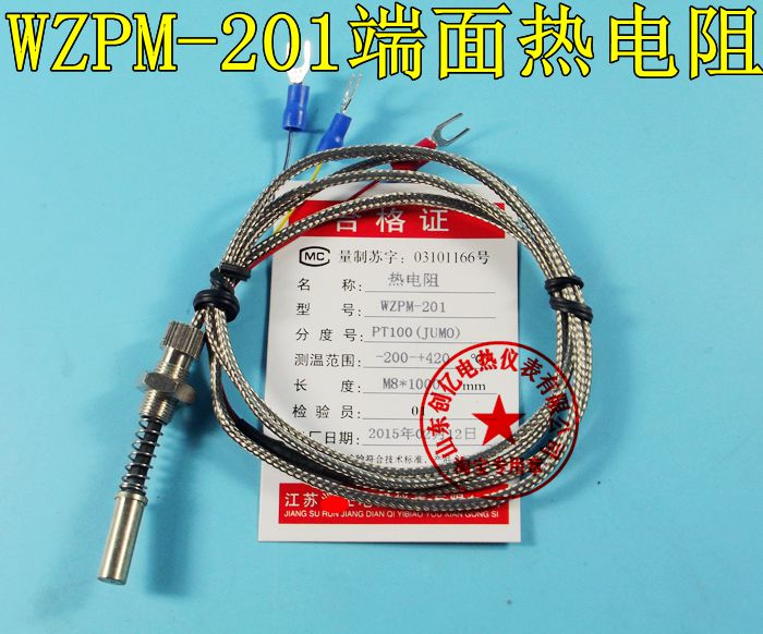 WZPM-201 end surface face thermal resistance Pt100 resistance temperature sensor surface temperature probe(China (Mainland))
