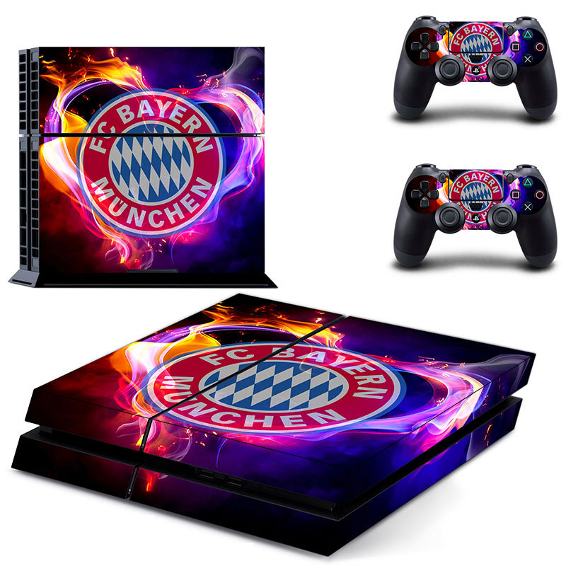 Football Team Series PS4 Skin PS4 Sticker Vinly Skin Sticker for Sony PS4 PlayStation 4 and 2 controller skins PS4 Stickers(China (Mainland))