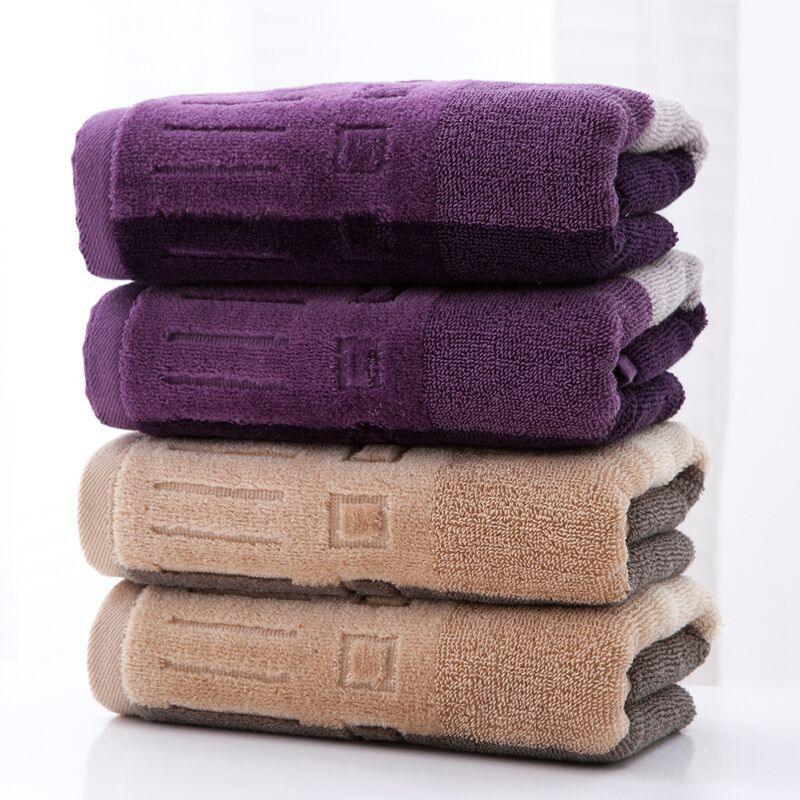 Luxury 100% Natural Cotton Washcloth 13 by 13-inch,600g Fluffy and Soft Face Towel Set of 12,Extra-absorbent Kitchen Towel(China (Mainland))