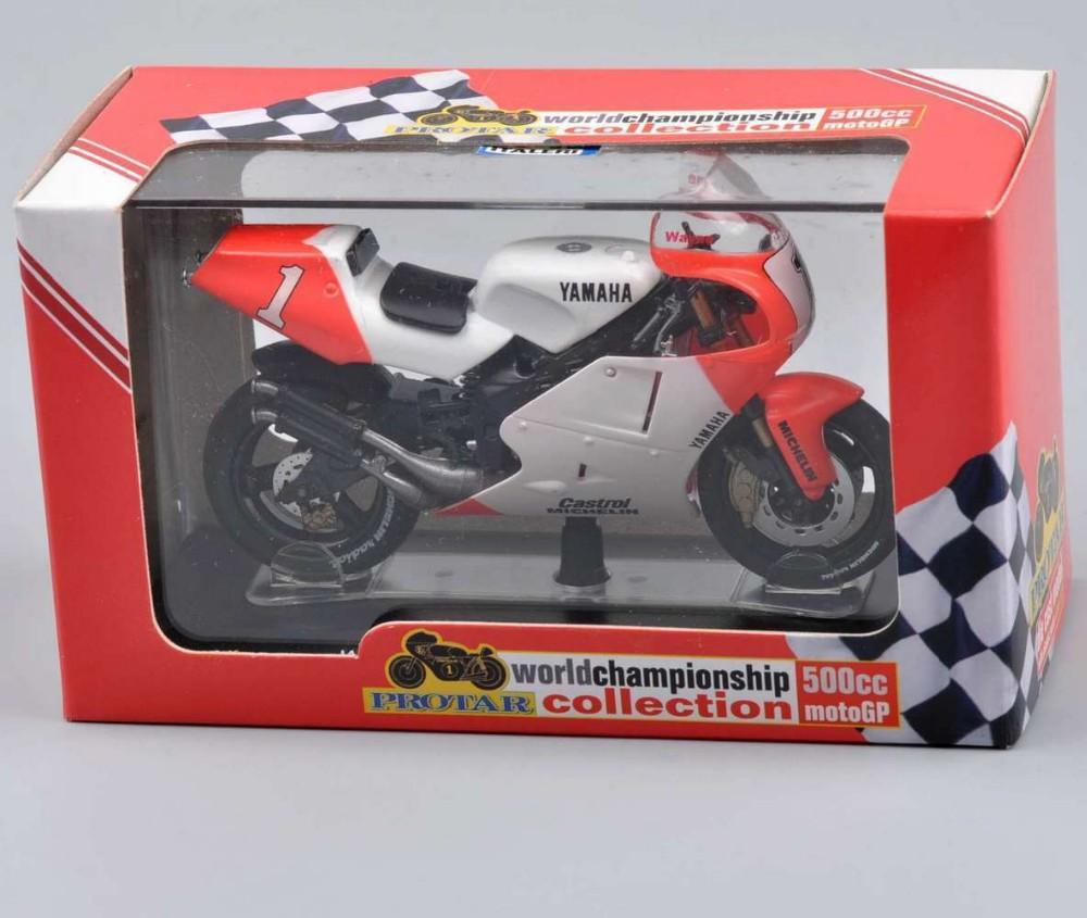 1:22 Scale YAMAHA YZR OWEO 500cc. World Champion 1992 rider W. Rainey ITALERI Diecast Bike Mannequin Collectible Presents C