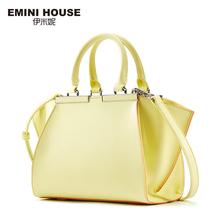 Buy EMINI HOUSE Tote Bag Split Leather Trapeze Shoulder Bag Women Messenger Bags Handbag Famous Brands Crossbody Bags Women for $204.13 in AliExpress store