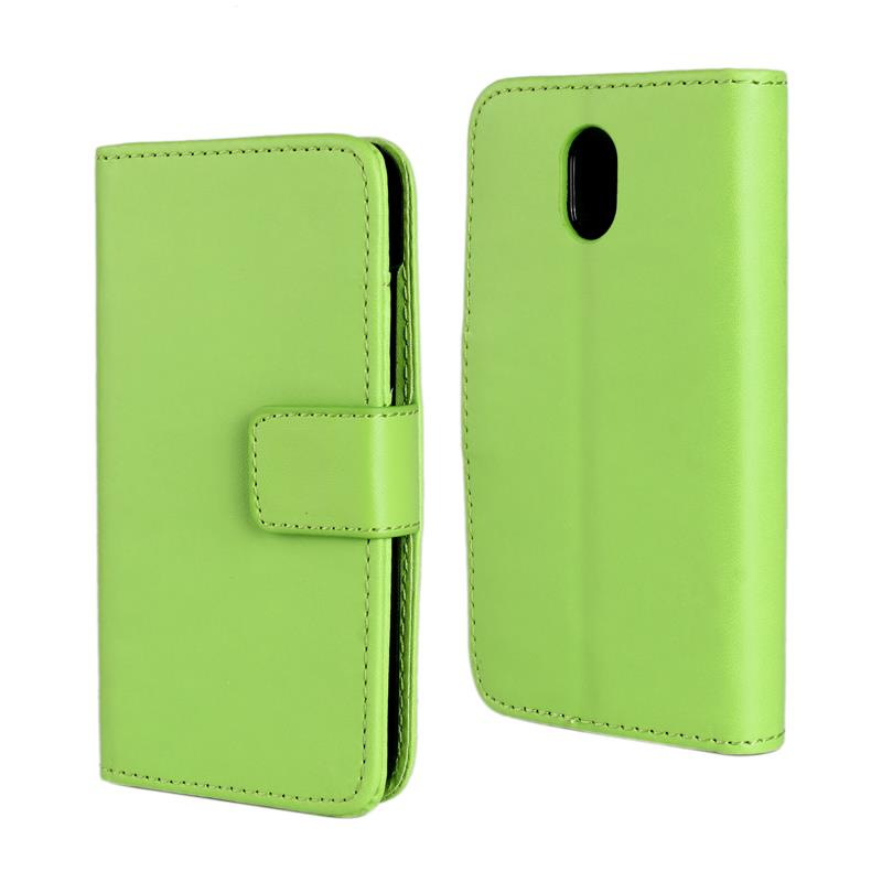 30 pcs/lot Card Slot Flip 100 Grain PU Leather Stand Wallet Case Cover HTC Desire 210