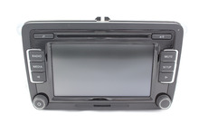 Black Botton RCD510 Car Radio CD Player With Reverse image w/o DAB/RDS For V W Jetta Golf Passat Scirocco Touran 5ND035190A(China (Mainland))
