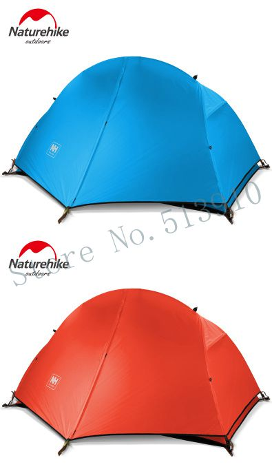 Promotion price!NH Naturehike Ultralight high grade single layer One Person Tent Camping Tent Waterproof Tent include mat(China (Mainland))