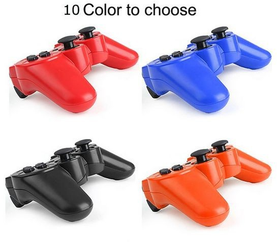 image for 9 Colors Like Original Wireless Bluetooth Game Controller For Sony Pla