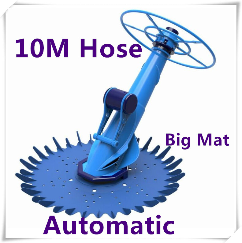 NEW 10m Above In Ground Auto Climbing Swimming Vacuum Pool Cleaner out-in door(China (Mainland))