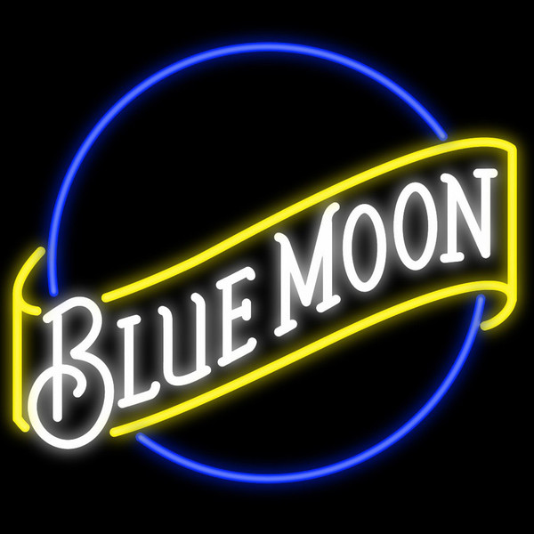 New Blue Moon Light Size:17X14 Glass Neon Sign Beer Bar Pub Arts Crsfts Gifts Sign<br><br>Aliexpress