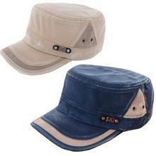 Новые Классические Мужские Женщины Регулируемые Армии Равнине Vintage Hat Кадетский Бейсболка(China (Mainland))