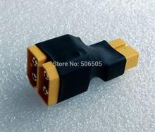Xt60 envío gratis serie enchufe de conversión de la serie de la batería conexión adaptador XT60 serie conector de la batería XT60 adaptador