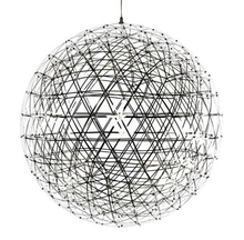 Creative Stainless Steel LED Pendant Light Dia 60/80cm Firework Ball Moooi Raimond Pendente De Teto Lamps Fixture Home Lighting(China (Mainland))