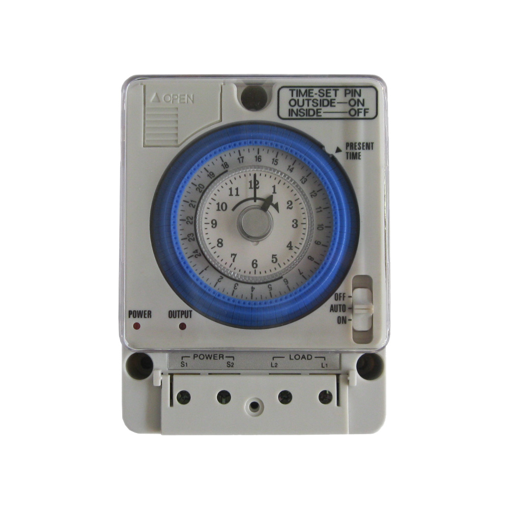 High-quality mechanical timer 24 hours switch controller power-compensated TB388<br><br>Aliexpress