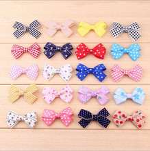 Hot Sale More Style Cute Colth Bow Hair Clip Pin Flower Young Girl Headdress headwear hair Accessories