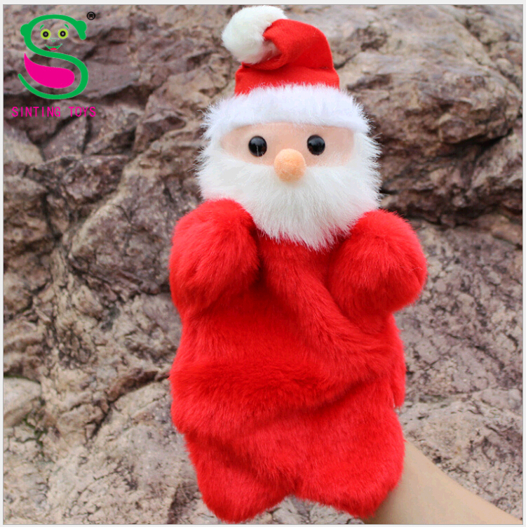 christmas gifts for kids plush hand puppet kid educational