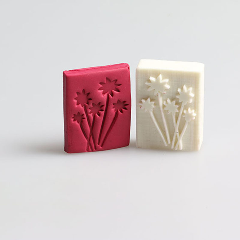 Customized classic mini Dandelion pattern DIY resin soap stamp mold soap chapter 4*3cm for making personalized soap(China (Mainland))