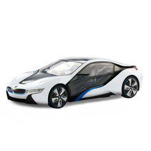 Buy Rastar Licensed BMW I8 1:14 luxury Remote Control rc Car drone game electric toys kids 49600-14 for $76.99 in AliExpress store