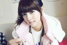Ohyes Girls Sweety Straight Bob Style Extensions Fringe/ Bangs(China (Mainland))