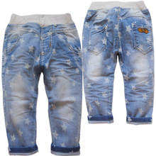 3287 kids  casual Capri  pants trousers summer white   child children's clothing boy boys  height  95- 20cm
