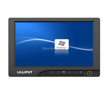 """Buy LILLIPUT 869GL-80NP/C/T 8"""" TFT LED 4-wire resistive touch screen monitor AV VGA HDMI car PC hosts monitor for $169.00 in AliExpress store"""