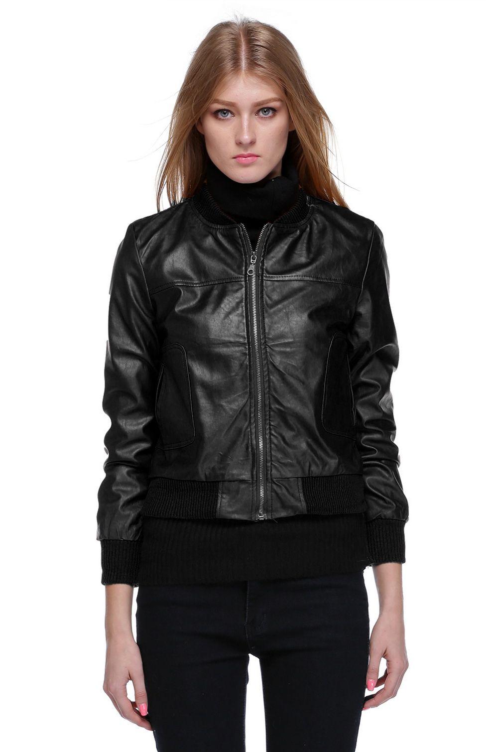 Кожаные Куртки Женские 2013