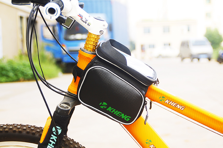 "3 color Road Folding Bike Bag Basket Sport Cycle Bicycle Bag Brand GPS Cycling MTB Bag Phone Case 6.0"" 4.8"" Bicycle Accessories(China (Mainland))"