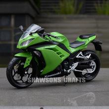 1:12 DIECAST MODEL TOYS KAWASAKI NINJA MOTORCYCLE SPORT BIKE REPLICA COLLECTION(China (Mainland))