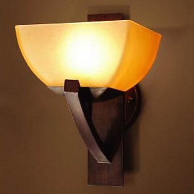 American Style Iron Glass Vintage Led Wall Light Lamp For Home Bedroom Wall Sconce Free Shipping ...