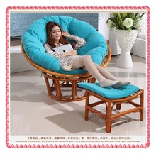 Rattan leisure chairs with foot-rest hot selling(China (Mainland))