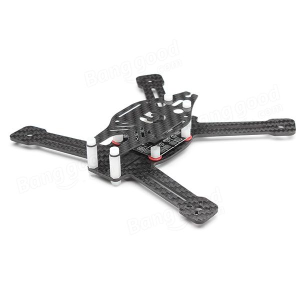 Diatone Grasshopper 160 G160 Carbon Fiber Quadcopter Frame Kit w/ BEC Power Distribution Board(China (Mainland))