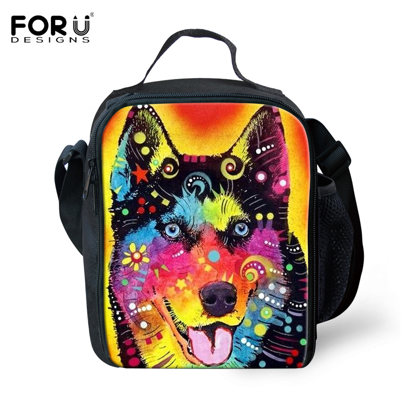Griffiti Portable Insulated Lunch Bag Pet Dog Cat Thermal Food Picnic Lunch Bags for Women kids Men Cooler Lunch Box Bag Tote(China (Mainland))