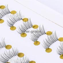 10 Pair Makeup Half Winged False Eyelahes Mini Lashes Corner Eye Lashes Handmade