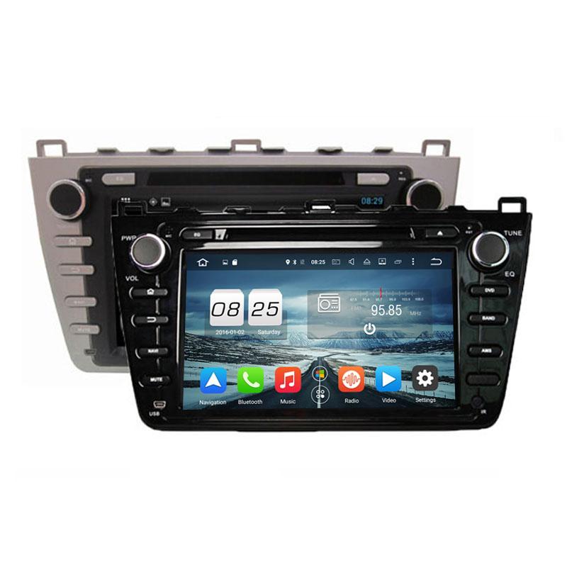 ROM 32G Octa Core Android 6.0 Fit MAZDA 6 ,Mazda6 Ruiyi / Ultra 2008 2009 2010 2011 2012 Car DVD Player Navigation GPS Radio(China (Mainland))