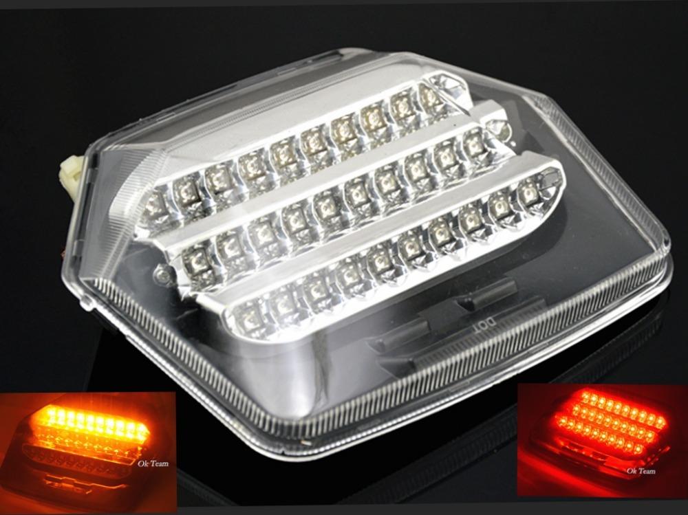 Motorcycle Integrated LED Brake Tail Light Turn Signals for CB400 CB1300 VTEC 2003-2008 04 05 06 07 turn lights(China (Mainland))