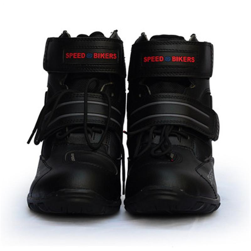 Brand pro biker boots motorboat womens mens biker botas motocross boot moto boots motorcycle shoes 38-45(China (Mainland))