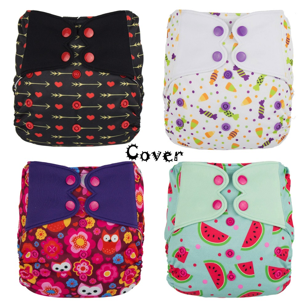 ElfDiaper New Print! Diaper cover no pocket washable baby nappy cloth diapers nappies(China (Mainland))