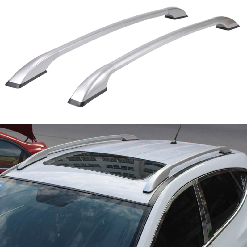 universal car styling auto roof racks side rails bars baggage holder