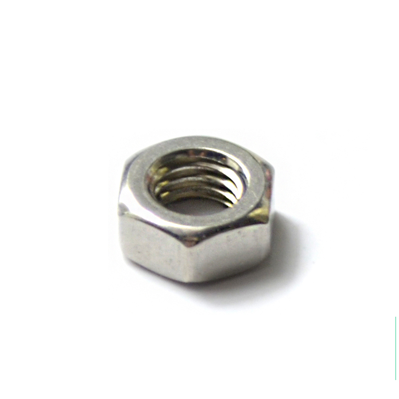 1000pcs/lot DIN934 M2 Stainless Steel A2 Hex Nuts Metric(China (Mainland))