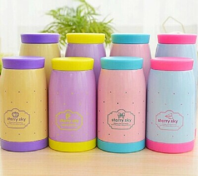 Top Quality 500ml Colourful love Cartoon Animal Kid Vacuum Flasks Thermoses Insulated Mug Milk Water Tea Cup Traveling(China (Mainland))