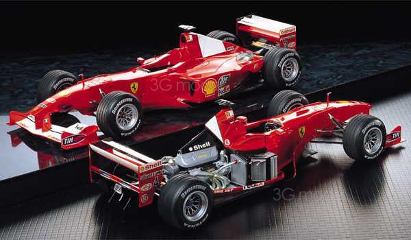 Tamiya model 20048 F1-2000 F1 Formula One racing(China (Mainland))