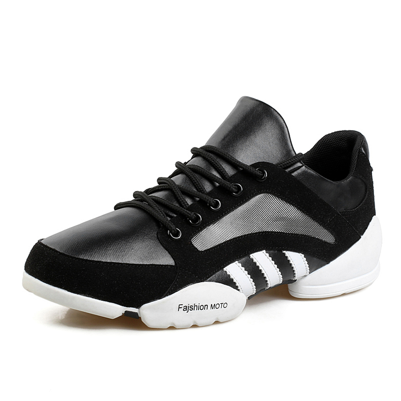 Гаджет  2015 New Fashion Men Casual leather Sneakers Men Sport Shoes Comfortable Breathable lace up Flats None Обувь