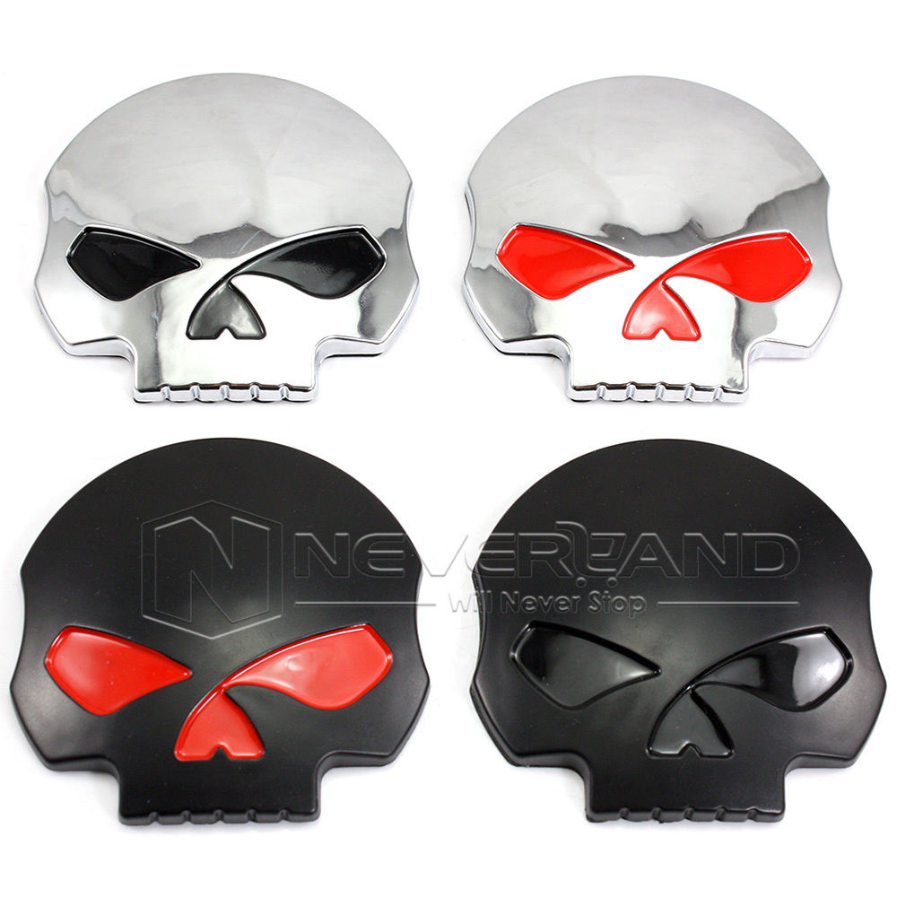 2015 New 3D Car auto body skull sticker emblem decal skull car sticker ABS badge Black/Silver Motorcycle Free Shipping(China (Mainland))