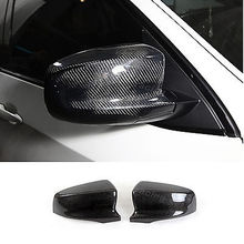 Buy 1Pair Carbon Fiber Side Mirror Covers Fit BMW E70M E71 M X5M 2009-2013 Add style Rearview Mirror Caps for $125.78 in AliExpress store